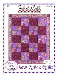 3 Fabric Quilt Patterns Simple Inspiration Design