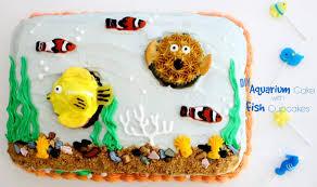 Fishing birthday cakes 11 fisherman birthday cakes steve photo happy birthday fishing. Diy Aquarium Cake And Fish Cupcakes