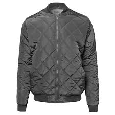 FashionOutfit Men's Classic Quilted Padded Bomber Jacket - Walmart.com & FashionOutfit Men's Classic Quilted Padded Bomber Jacket Adamdwight.com