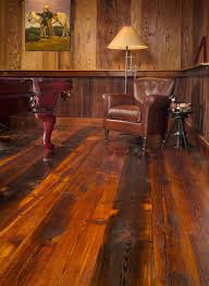 impressive wide plank rustic wood flooring 4 ways to use distressed wood for a rustic home dcor