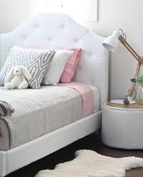 Mia Bedroom Furniture Mia Single White Upholstered Bed Mias Bedroom Pinterest