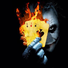 Joker Black Wallpaper Download