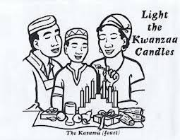 Small Picture December Holiday Kwanzaa coloring pages family holidaynetguide