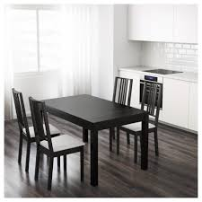 Bjursta Extendable Table Brown Black Kitchen Remodel Dining
