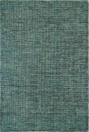 toro teal premium cut viscose and loop pile wool rug