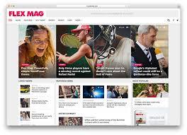 Wordpress Website Templates Fascinating 48 Amazing Magazine WordPress Themes 48 Colorlib