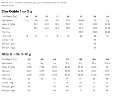 Size Guide Marc Jacobs