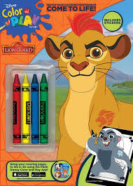Want to play and learn with the game. Disney The Lion Guard Color Play Crayon Coloring Activity Book Bendon