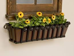 tapered iron window boxes