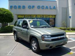 2004 Silver Green Metallic Chevrolet TrailBlazer LS #8111838 ...