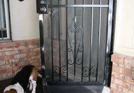 black metal screen doors. Laurel S Adventures In Home Repair Holes Wrought Iron For Screen Doors Ideas 9 Black Metal 1
