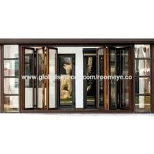 aluminum wooden bi folding doors exterior door for s south africa