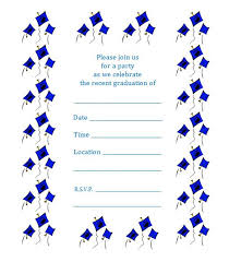 Graduation Party Announcement Free Printable Graduation Party Invitations 2017 Download Them Or