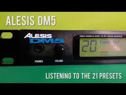 Alesis Dm5 Sound Chart Alesis Dm5 Drum Module How Does It Sounds Quick Test