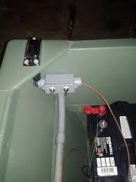 new lighting system on my jon boat pvc conduit individual light switches