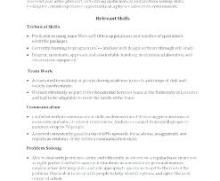 Communication Skills Examples For Resume Simple Resume Format