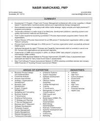 It Project Manager Resume Printable Planner Template