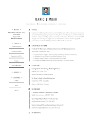 Resume Templaye Federal Resume Templates 2019 Free Download Resume Io