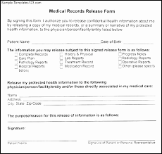 Medical Authorization Form Template Luxury Using Printable Medical Impressive Printable Medical Release Form For Children