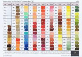 Pastel Colour Charts Grandportraits