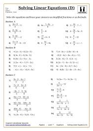 9th Grade Math Worksheets With Answers 9th Grade Math Worksheets ...