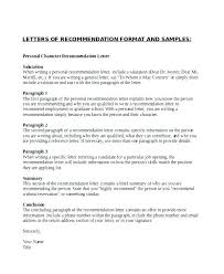 Google Letter Of Recommendation Sample Docs Template