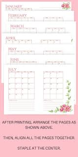 monthly planner free download super pretty two page monthly planner 2018 free printables