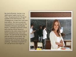 Teacher Powerpoint Powerpoint Image Of Most Influential Teacher Download Scientific