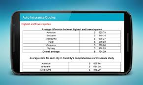 auto insurance quotes android apps on google play