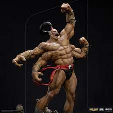 Goro Statue Art Scale 1:10 Battle Diorama Series, Mortal Kombat, 36 cm