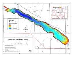 Battle Reservoir Bathymetric Chart