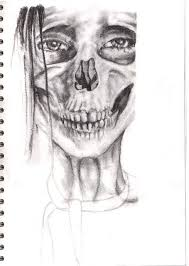 anorexic face drawing.  Drawing Anorexiafaces  Google Search In Anorexic Face Drawing Pinterest
