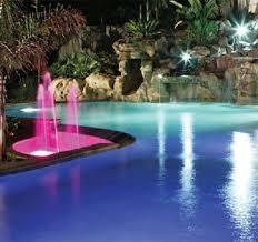 swimming pool lighting options. Fiber Optics Pool Lighting Swimming Options B