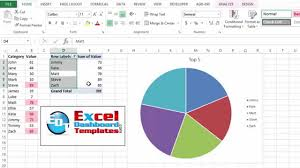 create a pie chart in excel how to create a dynamic top 10 excel pie chart from a pivot table