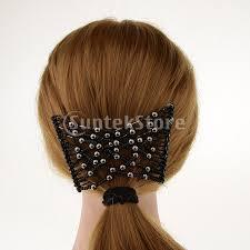 クリップ ヘアコーム 髪の櫛 ヘアアレンジ 髪型作り ファッションの