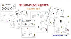 Free Halloween Math Worksheets - Homeschool Den