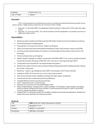 Sap Basis Sample Resume Sap Basis Resume Format Abletter Vaultradio Co