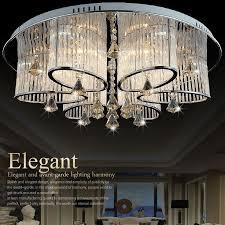 avant garde lighting. gorgeous art deco style led ceiling light modern crystal chandelier avant garde lighting l