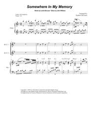 exultet sheet music download somewhere in my memory for clarinet choir sheet music by