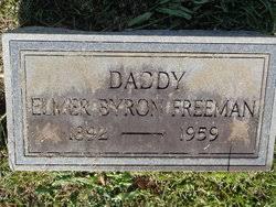 Elmer Byron Freeman (1892-1959) - Find A Grave Memorial