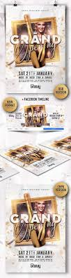 Grand Opening Flyer Fascinating 48 Best Grand Opening Images On Pinterest Design Posters Layout
