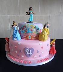 Birthday Cakes Wonderful Disney Princess Birthday Cakes