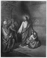 jesus et la femme adultere