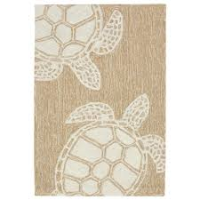 lucca sea reptile neutral 2 ft x 3 ft rectangle indoor outdoor area