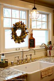 Above Kitchen Sink Lighting 17 Best Images About Tuscan Kitchen On Pinterest Appliance