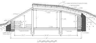 underground house plans. Contemporary Underground Solar Pit House Section View Click To Enlarge With Underground Plans N