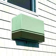 ac unit cover outside wall covers decorative wood indoor cleaning ideas