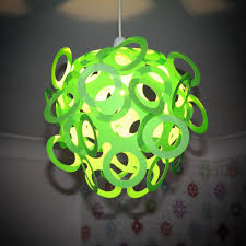 funky lighting. Loopy-Lu Green Lamp Shade Funky Lighting N