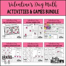valentine s day solving systems of linear equations game value 3 00 valentine s day ratios rates activity value 2 00