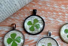 st patrick s day craft lucky clover pendant necklace healthy recipe collections